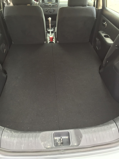 Used Nissan Versa >> Can anybody do a Howto to remove back seat and lower seat for more space on sedan? - Nissan ...