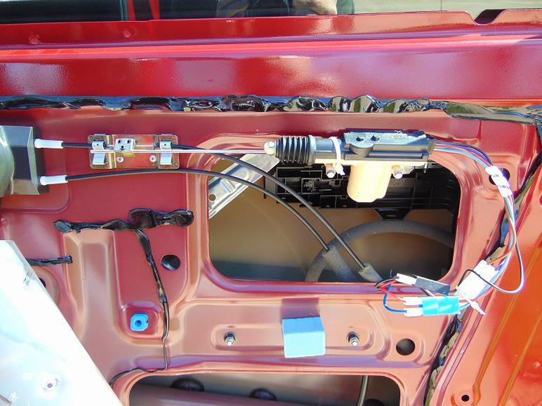 Click image for larger version Name passenger door.jpg Views 1975 Size & Installing power door lock actuators - Nissan Versa Forums
